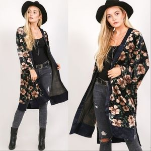 Tops - FLORAL DUSTER